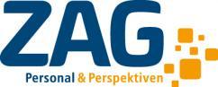 Stellenangebot von ZAG Personal & Perspektiven